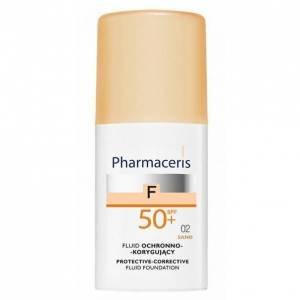 Pharmaceris SPF 50 Sand 02  Protective Corrective Foundation Fluide 30 ml