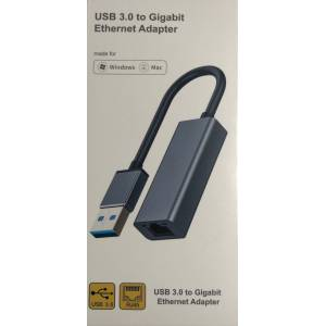 USB 3.0 GİGABİT ETHERNET ADAPTÖR