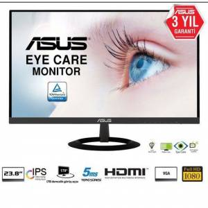 ASUS 238'' VZ249HE 5ms 60Hz Full HD IPS Ultra İnce Monitör