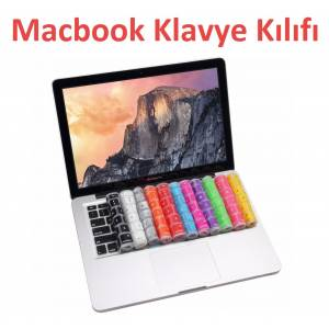 Macbook Klavye Koruyucu Silikon Mac Kılıf Macbook Air Pro Retina 13 15 17 inch