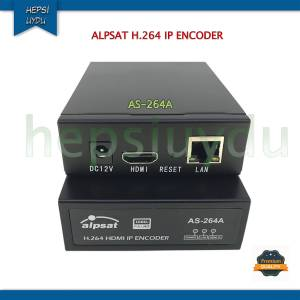 ALPSAT H.264 HDMI IP Encoder AS-264A ( İP STREAM CİHAZI )