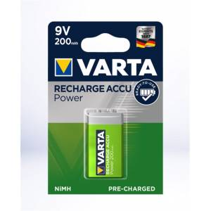 Varta 9v 200mAH Ready to Use Şarjlı Tekli Blister