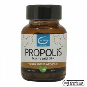 The LifeCo Propolis 60 Tablet AROMASIZ