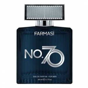 farmasi no.70 eau de parfum  for men erkek parfümü