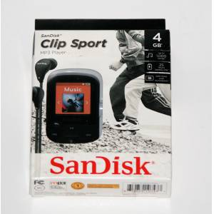 SanDisk Clip Sport 4 GB MP3 Player - Siyah