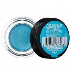 maybelline color tattoo 24 hr 20 turquoise forever