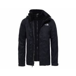 The North Face Siyah Erkek Outdoor Montu T0Cg55Jk3 M Evolve ii Triclimate Jacket