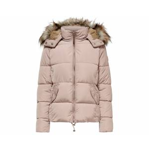 Only Kadın Günlük Mont 15182372-Shadow Gray Pembe Onlrhoda Winter Jacket Otw