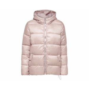 Only Pembe Kadın Montu 15183106-Shadow Gray Onlnaiomi Hooded Jacket Cc Otw