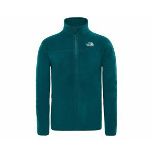 The North Face Yeşil Erkek Outdoor Sweatshirts T92Uaqbcw M 100 Glacier Full Zip