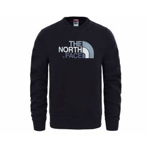 The North Face Siyah Erkek Outdoor Sweatshirts T92Zwrjk3 M Drew Peak Crew