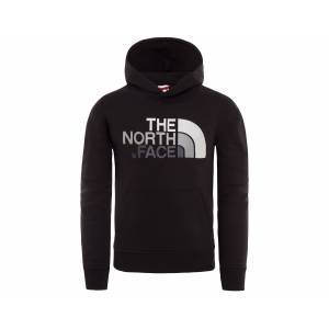 The North Face Siyah Çocuk Sweatshirts T933H4Etr Y Drew Peak Po Hdy