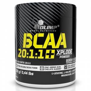Olimp BCAA 20:1:1 + Xplode Powder 200 Gr KOLA