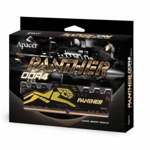 APACER 8 GB PANTHER DDR4 3000Mhz BLACK-GOLD 1.35V Pc Ram Bellek