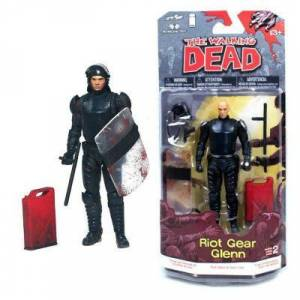 The Walking Dead Riot Gear Glenn Figure
