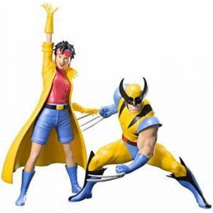 X-Men 92 Wolverine & Jubilee Two Pack ARTFX+ Statue