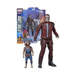 Guardians of the Galaxy Select Star-Lord & Rocket Raccoon Figure