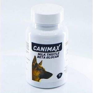 Canimax Milk Thistle Beta Gluten Köpek Vitamin Tableti (50 Tablet)