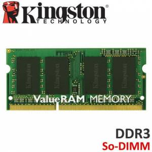 KINGSTON DDR3 4gb 1600mhz Value Notebook Ram KVR16S11S8/4 1.5volt