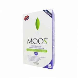 Moos Argan and Cactus Repair Intensive Care Shampoo 200ml