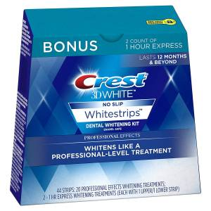 CREST 3D WHITE PROFESSIONAL EFFECTS BONUS KUTU(44 Strips)