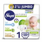 Sleepy Natural 1 Beden 320 Adet
