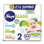 Sleepy Natural 2 Beden 84 Adet