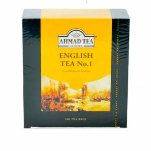 AHMAD TEA ENGLISH NO 1 100'LÜ POŞET ÇAY. AHMAD TEA ENGLISH