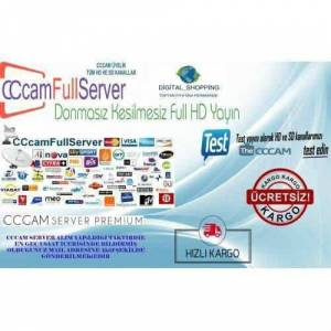 12 Aylık Full CCcam Server (HD VE SD)