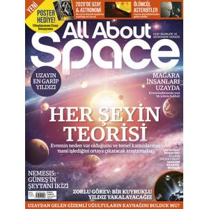 All About Space Dergisi Yıllık Abonelik