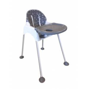 Minigo High Chair Ped Hediyeli Mama Sandalyesi