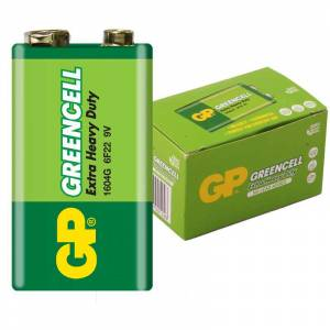 GP 1604G-B GREENCELL 9 VOLT PİL 1 ADET