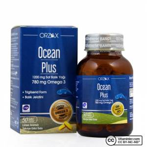 Ocean Plus Omega 3 1200 mg 50 Kapsül LİMON