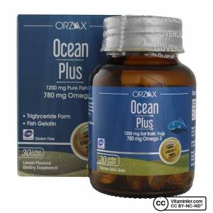 Ocean Plus Omega 3 1200 mg 30 Kapsül LİMON