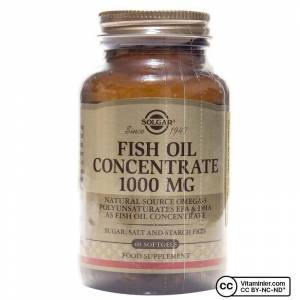 Solgar Fish Oil 1000 mg 60 Softjel AROMASIZ
