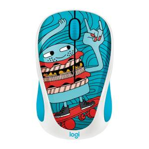 Logitech M238 Kablosuz Mouse The Doodle Collection Skateburger 910-005052