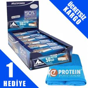 Multipower %50 Protein Bar 50 Gr 24 Adet