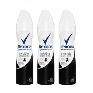 Rexona İnvisible One Black And White Bayan Deodorant 150 Ml 3 Lü Paket