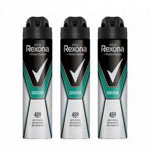 Rexona Sensitive Erkek Deodorant 150 ml 3 Lü Paket