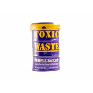 Toxic Waste Purple Sour Candy 42gr - 234536475869