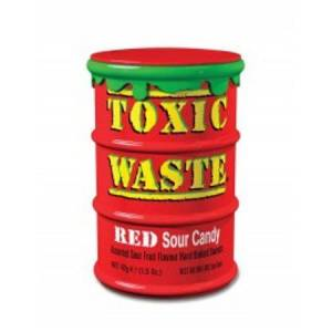 TOXİC WASTE RED SOUR CANDY 42gr