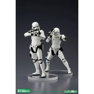 First Order Stormtrooper 1/10 ArtFX+ Statue Two Pack