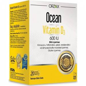 Ocean Vitamin D3 600 IU Sprey 20 ML