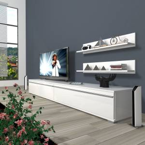 DECORAKTİV EKO 4 MDF STD TV ÜNİTESİ +2 RAF 8682109200684