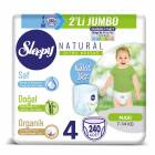 Sleepy Natural Külot Bez 4 Beden 240 Adet