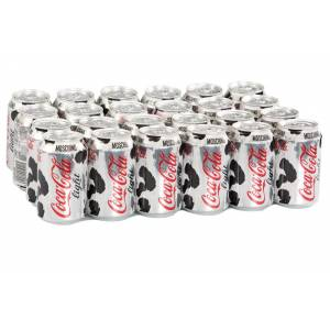 Coca Cola Light Kutu 330 Ml (24 Adet)