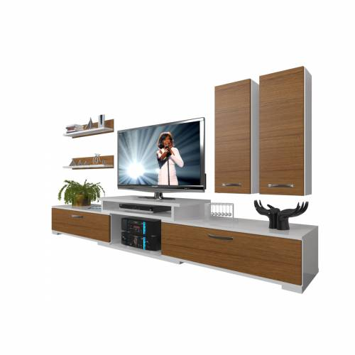 DECORAKTİV FLEX 5D MDF TV ÜNİTESİ TV SEHPASI TV UNİTESİ 18682109203736