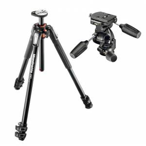 Manfrotto MT190XPRO3 Professional Tripod + Manfrotto 808RC4 3Way Standart Head