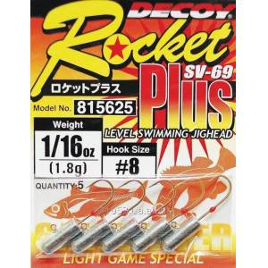 DECOY SV-69 Rocket Plus Jig Head - 10 no 0,45gr