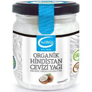 The LifeCo Organik Hindistan Cevizi Yağı 150 Ml